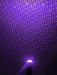 cheap -10pcs LED Car Roof Star Night Light Projector Atmosphere Galaxy Lamp USB Decorative Lamp Adjustable Multiple Lighting Effects