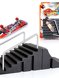 cheap -2 pcs Finger skateboards Mini fingerboards Plastic Alloy Office Desk Toys Cool Kid's Teen Unisex Party Favors  for Kid's Gifts