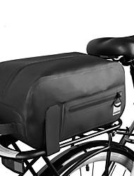 cheap -7 L Bike Rack Bag Waterproof Portable Waterproof Zipper Bike Bag TPU 600D Ripstop Bicycle Bag Cycle Bag Outdoor Exercise