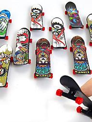 cheap -36 pcs Finger skateboards Mini fingerboards Finger Toys Plastic Professional Office Desk Toys Cool Kid's Teen Unisex Party Favors  for Kid's Gifts