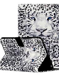 cheap -Case For Apple iPad 4 3 2 Flip Full Body Cases Animal Cartoon TPU PC