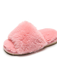cheap -Girls' Slippers & Flip-Flops Comfort Synthetics Slippers Little Kids(4-7ys) / Big Kids(7years +) Walking Shoes Dusty Rose / Pink / Gray Fall / Winter