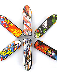 cheap -12 pcs Finger skateboards Mini fingerboards Plastic Professional Office Desk Toys Cool Kid's Teen Unisex Party Favors  for Kid's Gifts / Random Style