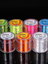 cheap -Monofilament Abrasion Resistant Fishing Line 500M / 550 Yards Transparent, Yellow, Blushing Pink