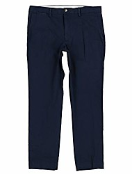 cheap -mens stretch classic fit chino pants & #40;34x32, aviator navy& #41;