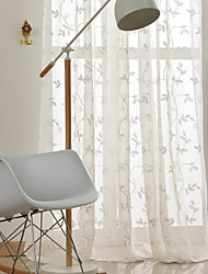 cheap -Classic Semi-Sheer Two Panels Sheer Kids Room   Curtains