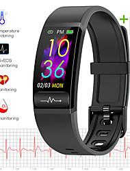 cheap -JSBP HM8 Body Temperature Test Smart Watch BT Fitness Tracker Support Notify Full Touch Screen/Heart Rate Monitor Sport Stainless Steel Bluetooth Smartwatch Compatible IOS/Android Phones