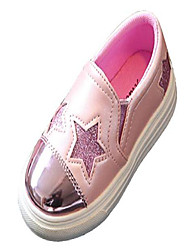 cheap -kids fashion sequins stars loafers shoes low top comfortable leather dress sneakers & #40;13 m us little kid, pink& #41;
