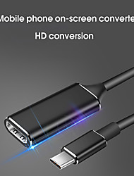 cheap -Usb Type C To Hdmi Cable Adapter 4k 30hz Usb 3.1 To Hdmi Adapter Male To Female Converter For Pc Computer Tv Display Ph