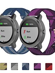 cheap -Nylon Watch Band Strap for Garmin Venu 21cm / 8.27 Inches 2cm / 0.8 Inches