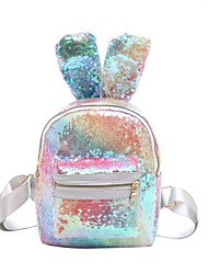 cheap -Women's / Girls' Bags PU Leather / Polyester Kids' Bag Sequin for Going out Watermelon Red / Blue / Rainbow
