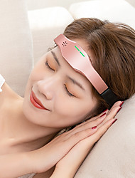 cheap -Electric Head Sleep Device Improve Insomnia Acupuncture And Sleep Aid Wireless Charging Hypnosis Device Head Massager Electric Pulse Three-Speed Rate