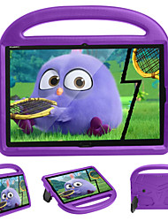 cheap -Case For Huawei Huawei MediaPad M5 10  MediaPad M6 10.8 with Stand Back Cover Solid Colored Cartoon EVA