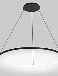 cheap -1-Light 60 cm LED Pendant Light Metal Acrylic Circle Painted Finishes Modern Contemporary 110-120V / 220-240V