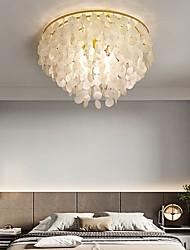 cheap -50 cm Single Design Flush Mount Lights Shell Modern 110-120V 220-240V