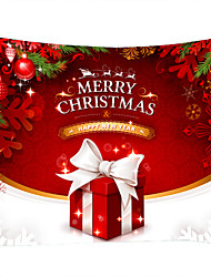 cheap -Christmas Weihnachten Santa Claus Wall Tapestry Art Decor Blanket Curtain Picnic Tablecloth Hanging Home Bedroom Living Room Dorm Decoration Christmas Tree Ornament Gift Polyester