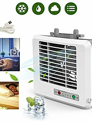 cheap -personal air cooler, mini portable air conditioner fan noiseless evaporative 3 speeds air humidifier for room