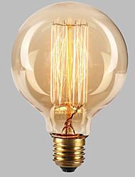 cheap -1pc 40W Vintage Edsion Bulb E26 / E27 G80 Warm White 2300k Incandescent Vintage Edison Light Bulb