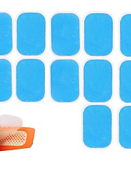 cheap -12PCS EMS Trainer Abdominal Gel Stickers Pad for Electric muscle stimulator ABS fitness Weight loss Body Slimming Myostimulator