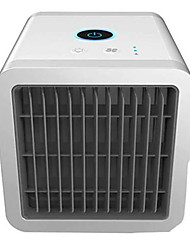 cheap -USB Mini Portable Air Conditioner Purifier Desktop Cooler Fan - Cool White