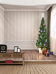 cheap -Christmas Weihnachten Santa Claus Wall Tapestry Art Decor Blanket Curtain Picnic Tablecloth Hanging Home Bedroom Living Room Dorm Decoration 3D Window Christmas Tree Gift Polyester