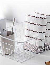 cheap -Superior Quality Wash Cloth, Lines / Waves / Fashion Pure Cotton Bathroom 1 pcs