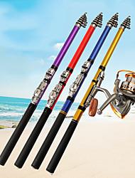 cheap -Fishing Rod Telespin Rod 150/180/210/240/270/300 cm Carbon Portable Telescopic Heavy (H) Sea Fishing