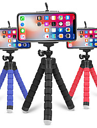 cheap -Flexible Tripod Phone Holder for iPhone 12 for Samsung Sponge Octopus Mobile Phone Stand Smartphone Tripod for Camera