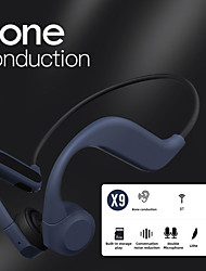 cheap -LITBest X9 Bone Conduction Headphone Bluetooth5.0 Stereo Waterproof IPX5 Running Cycling Headset  With Micphone Volume Control