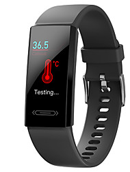 cheap -V100s Sliding Flip 1.14-Inch Big Screen Infrared Body Temperature Sports Waterproof Heart Rate Health Smart Bracelet Compatible IOS/Android Phones