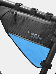cheap -4 L Bike Frame Bag Top Tube Waterproof Portable Wearable Bike Bag TPU 500D Nylon Waterproof Material Bicycle Bag Cycle Bag Cycling Outdoor Exercise Bike / Bicycle
