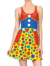 povoljno -Žene Haljina A-kroja Mini haljina - Bez rukávů Print Print Proljeće Ležerne prilike Dnevno 2020 Duga S M L XL