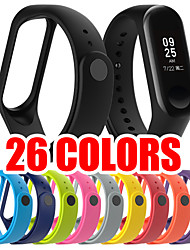 cheap -26 Colors For Xiaomi Mi Band 4 Replacement Strap Wristband Watch Band Strap Silicone TPE Sport Smaetwatch Bracelet Band Smart Accessories