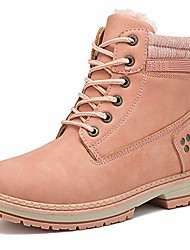cheap -ankle boots for women low heel work combat boots waterproof winter snow boots
