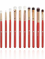 cheap -makeup brushes professional 10 pieces marble makeup brush set for powder cream foundation concealer blush eyeshadow eyebrow lip make up brushes