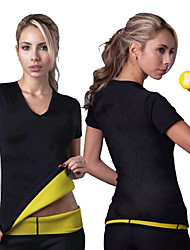 cheap -Hot Sweat Workout Tank Top Slimming Vest Sports Neoprene Yoga Gym Workout Exercise & Fitness Stretchy Strength Training Tummy Control Sweat Control Fat Burner For Women