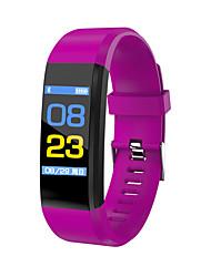 cheap -Men's Sport Watch Military Watch Smartwatch Digital Charm Water Resistant / Waterproof Digital Black Purple Red / Silicone / Alarm / Calendar / date / day / Slide Rule / Thermometer