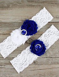 cheap -Lace Wedding Wedding Garter With Appliques Garters Wedding / Party