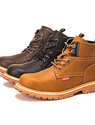 cheap -Large Size High Top Labor Protection Shoes Men's Anti Slip Wear-resistant Martin Boots Anti Puncture Safety Protection Work Shoe