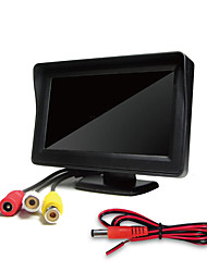 cheap -4.3-Inch Vehicle Mounted Display Desktop High-Definition Display Two-Way AV Input Reversing Image Priority Display for Car Rear view Monitors