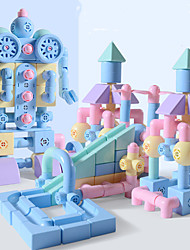 cheap -Magnetic Sticks Magnetic Tiles Building Bricks 1 pcs Creative New Design Adorable Convenient Grip Compact Design Parent-Child Interaction Building Toys All Toy Gift / Kids