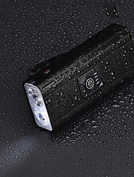 cheap -LED Bike Light Front Bike Light LED Bicycle Cycling Waterproof USB Charging Output Li-polymer 800 lm Rechargeable Battery White Camping / Hiking / Caving Everyday Use Cycling / Bike / Aluminum Alloy