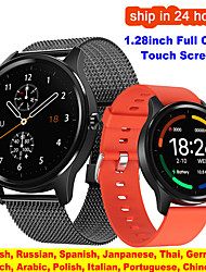 cheap -TS55 Smart Watch Men Fitness Tracker Blood Oxygen Pressure Measure Reloj Sport Watch Women IP67 Waterproof Heart Rate Smartwatch