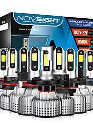 cheap -NOVSIGHT LED Car Headlight Bulbs H1-H3-H4-H7-H11-H13-9005-9006-9007 Beam 10000LM (2x5000LM) 72W(2x36W) 6500K Cool White LED Headlamps For universal General Motors All years With Set Up Video