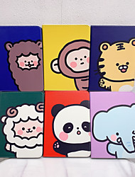 cheap -Case For Apple iPad Pro 11  Ipad Pro 11 inches 2020 with Stand Flip Full Body Cases PU Leather TPU Protective Stand Cover Pattern cute  lovely monkey panda elephant sheep alpaca tiger cartoon
