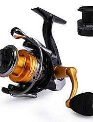 cheap -Fishing Reel Spinning Reel 5.51 Gear Ratio+15 Ball Bearings Hand Orientation Exchangable Sea Fishing / Freshwater Fishing