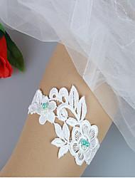 cheap -Lace Wedding Wedding Garter With Ruffle Garters Wedding / Party