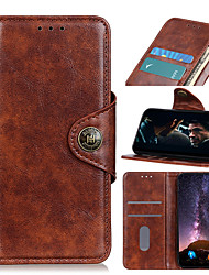 cheap -Case For Xiaomi Redmi 8 8A K30 K30Pro K30Pro ZOOM Note 8 8Pro 8T 9S 9Pro 9ProMax Mi 10 10Pro CC9Pro Note 10 10Pro Card Holder Shockproof Magnetic Full Body Cases Solid Colored PU Leather TPU
