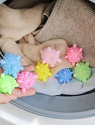 cheap -10 Pcs/lot Anti-winding Laundry Ball Home Washing Machine Solid Cleaning Ball Super Strong Decontamination Laundry Ball