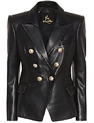 cheap -womens classic police type lambskin leather jacket, biker jacket